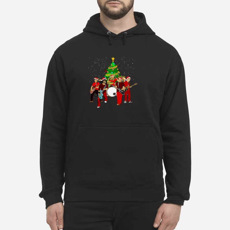 Foo Fighters Christmas tree sweater unisex hoodie