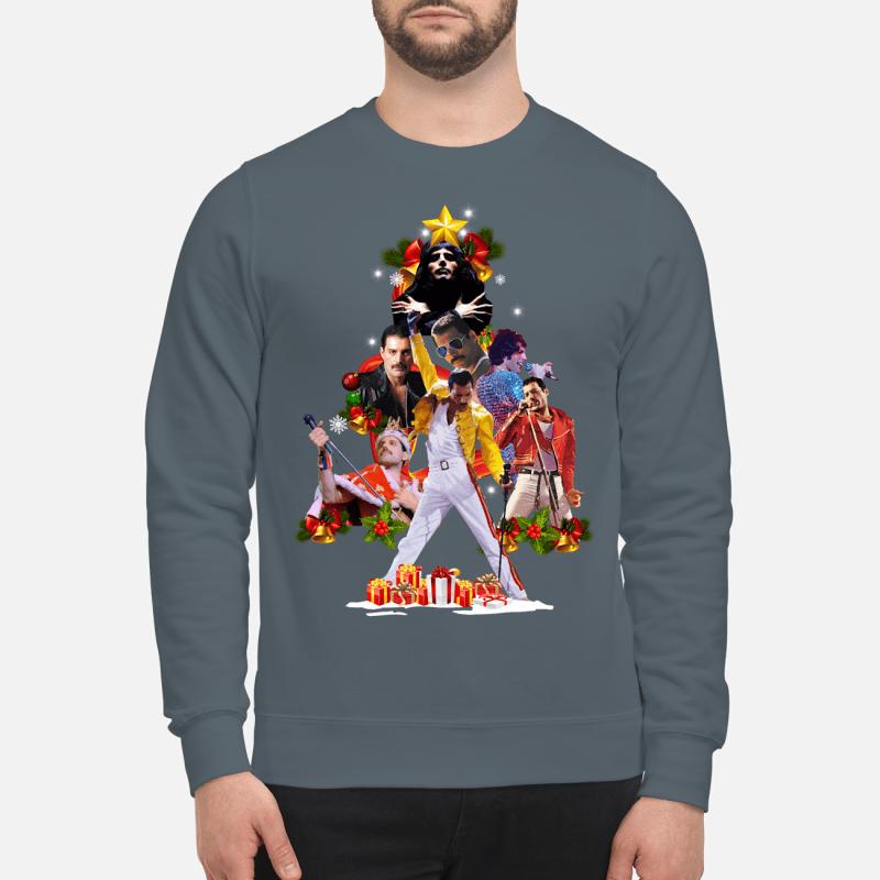 Freddie Mercury Christmas tree sweater sweartshirt