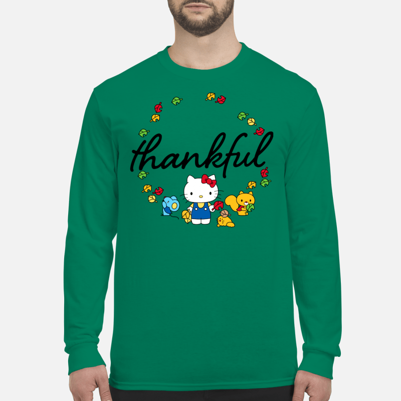 Hello Kitty Thanksgiving shirt long sleeved