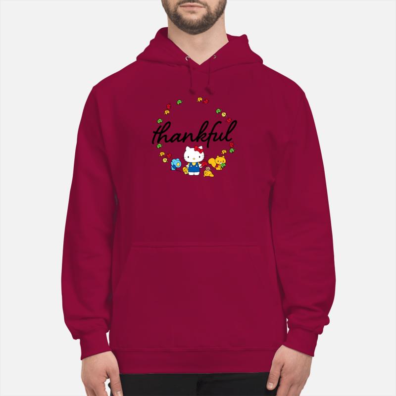 Hello Kitty Thanksgiving shirt unisex hoodie