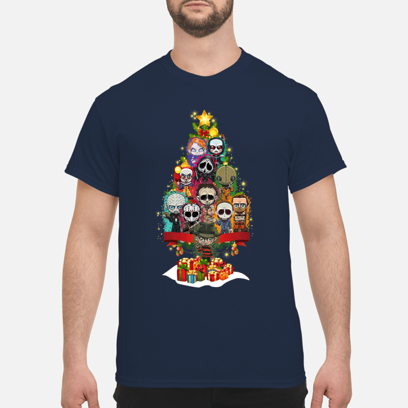 Horror Characters christmas tree sweater