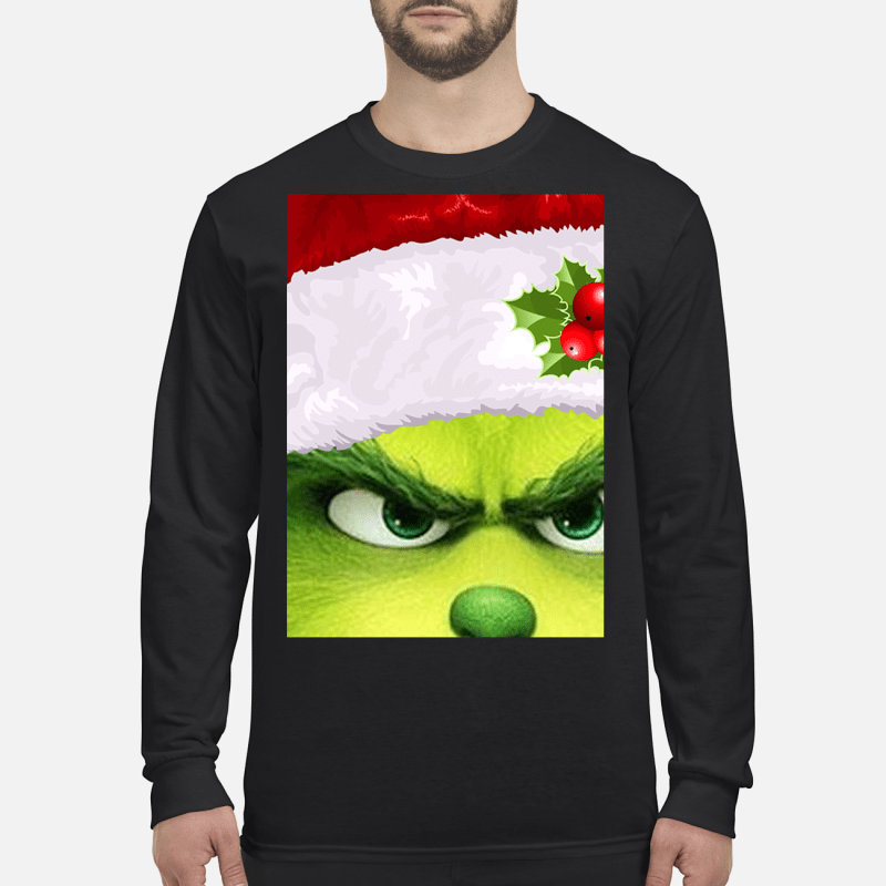 Just A Girl Who Loves Grinch Christmas Sweater Hoodie Tank Top