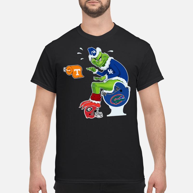 Kentucky Grinch Sata toilet shirt