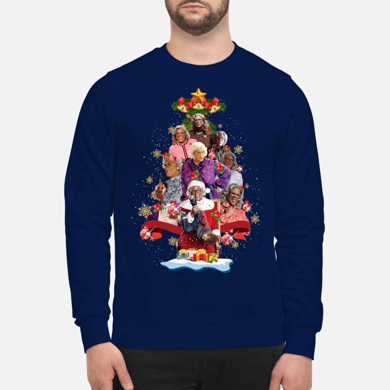 Madea Christmas Tree Shirt unisex Hoodie