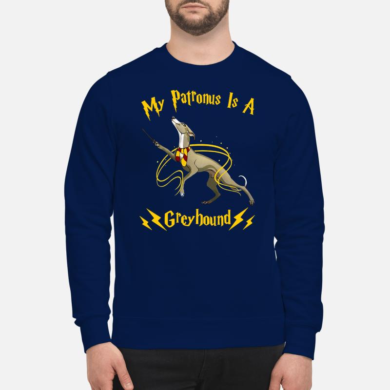 My patronus is a greyhound sweartshirt