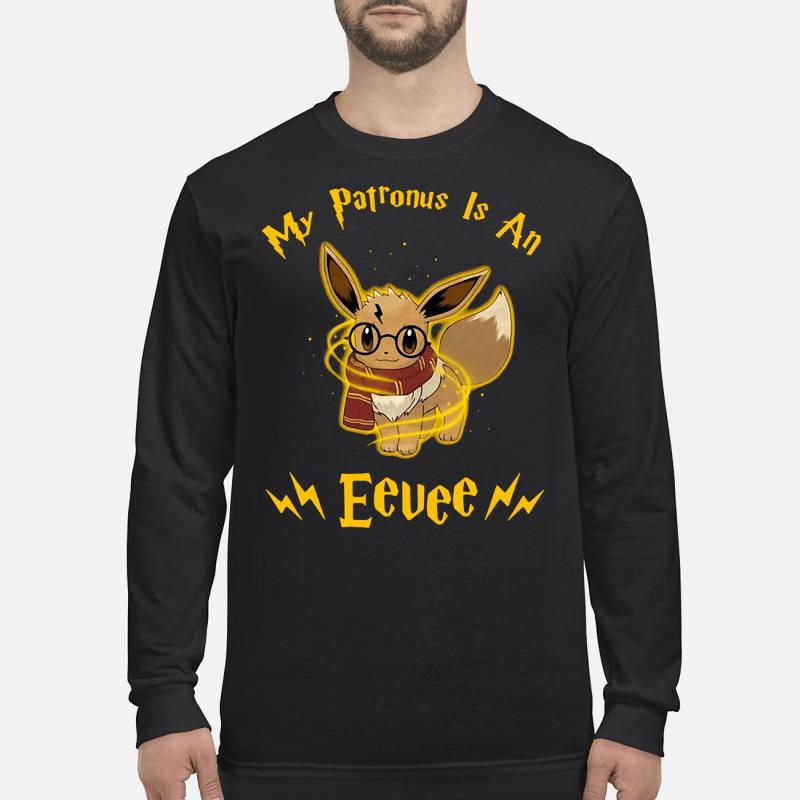 My patronus is an Eevee shirt long sleeved
