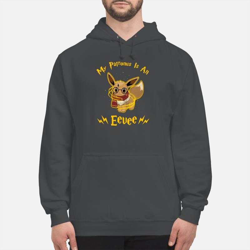 My patronus is an Eevee shirt unisex hoodie