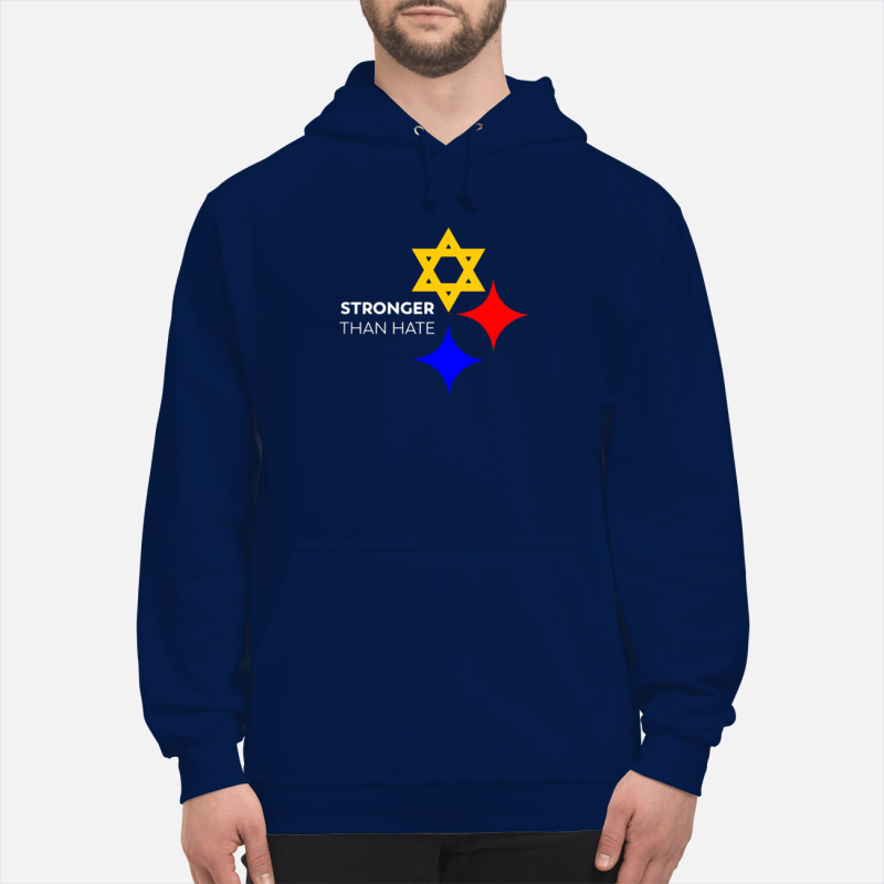 Pittsburgh Stronger Than Hate shirt unisex hoodie