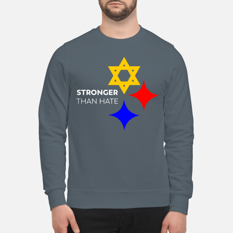 Pittsburgh Stronger Than Hate sweartshirt
