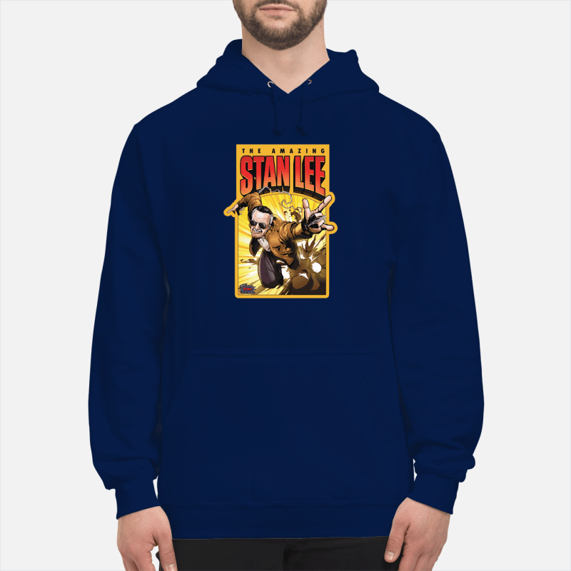 Pow Entertainment Amazing Stan Lee shirt unisex hoodie