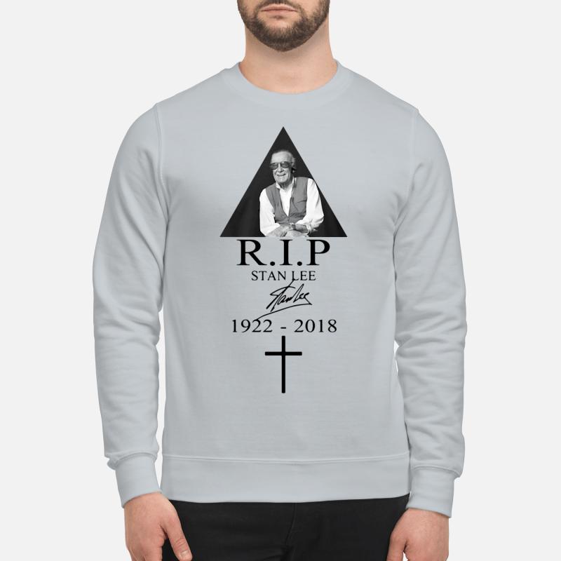 RIP Stan Lee 1922 2018 Signature sweartshirt