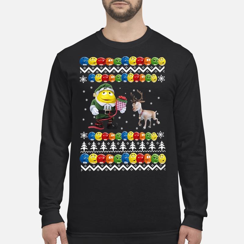 Reindeer christmas shirt long sleeved