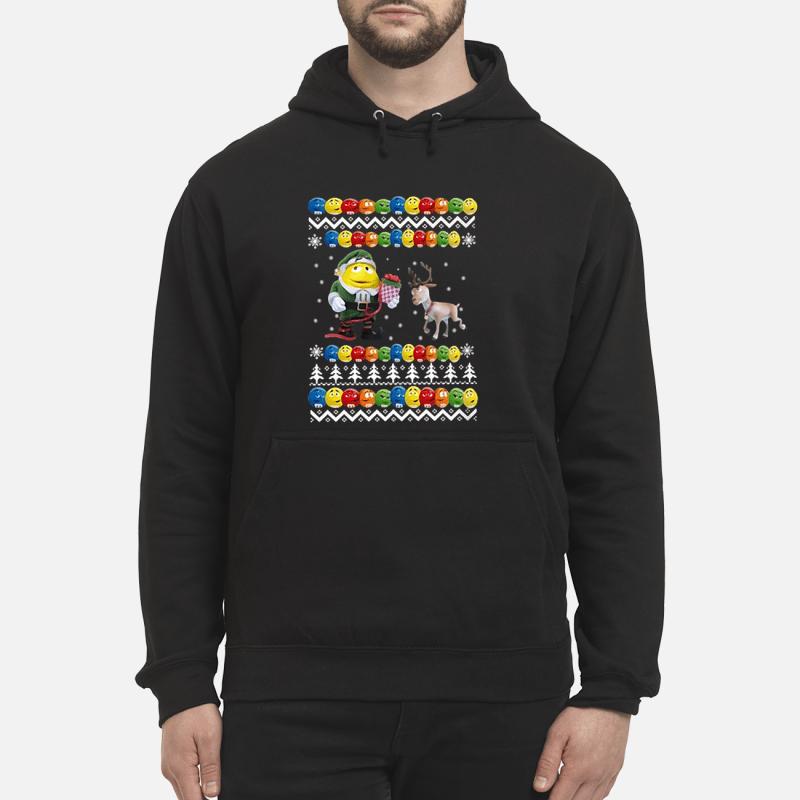 Reindeer christmas shirt unisex hoodie