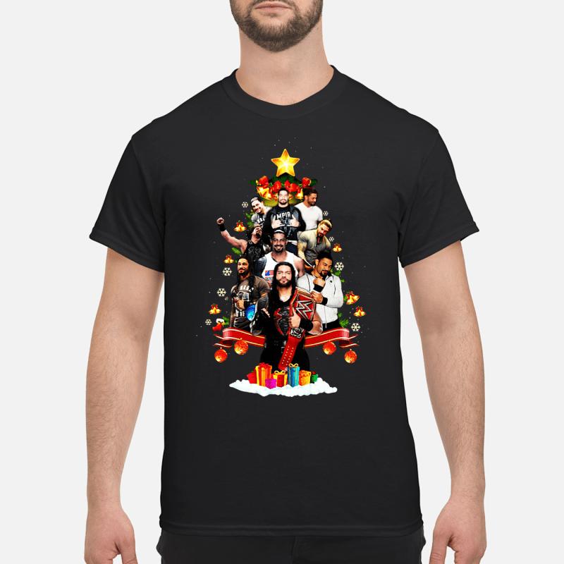 Roman Reigns Christmas tree shirt