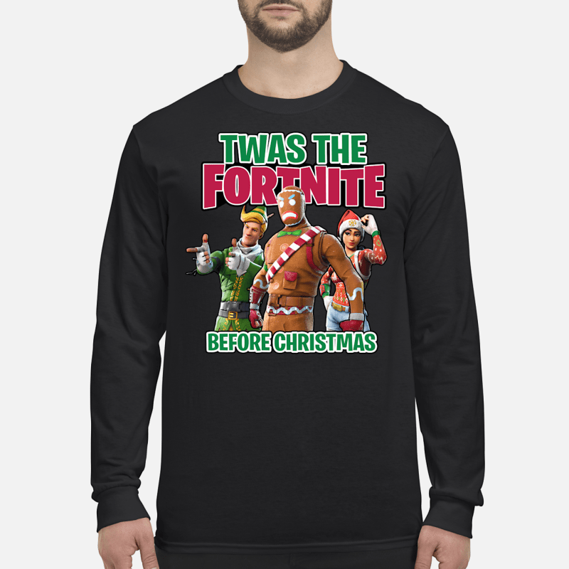 Twas The Fortnite Before Christmas sweater long sleeved