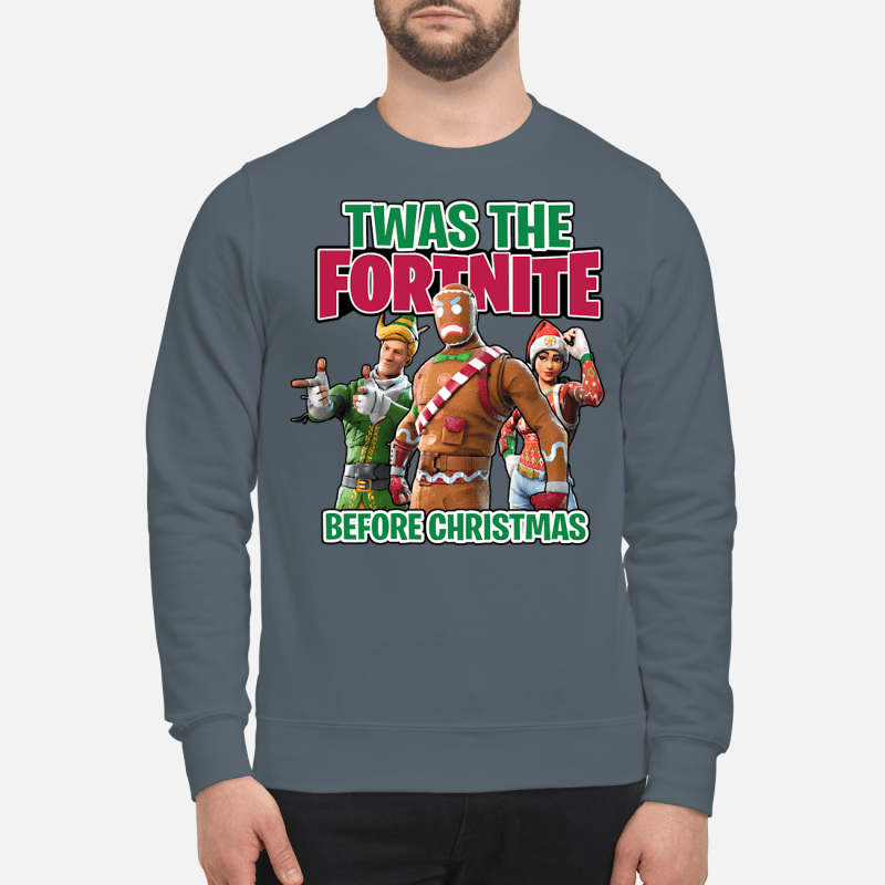 Twas The Fortnite Before Christmas sweater sweartshirt