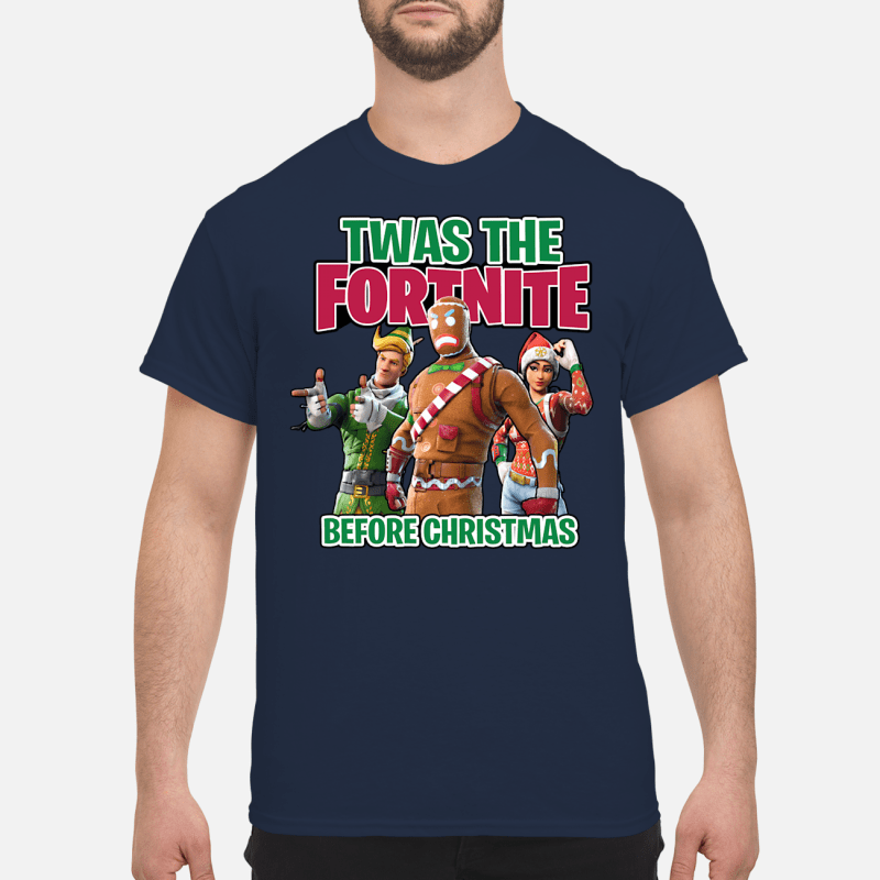 Twas The Fortnite Before Christmas sweater