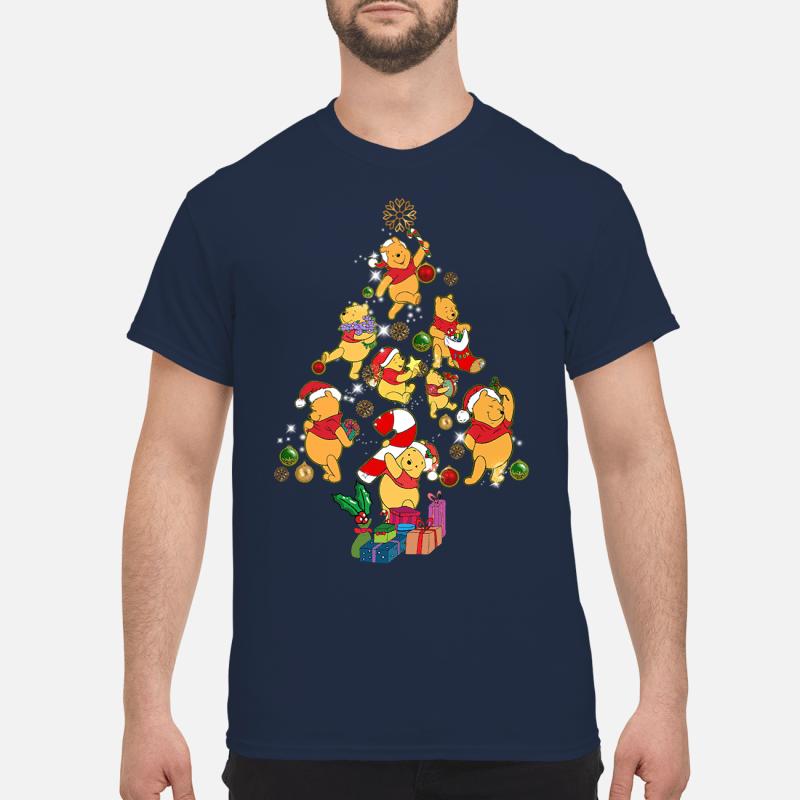 Winnie The Pooh Christmas tree sweater