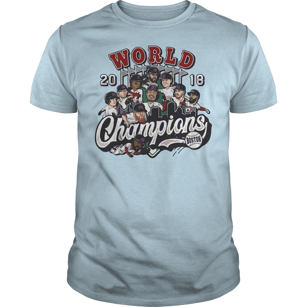 World 2018 Champion Boston shirt