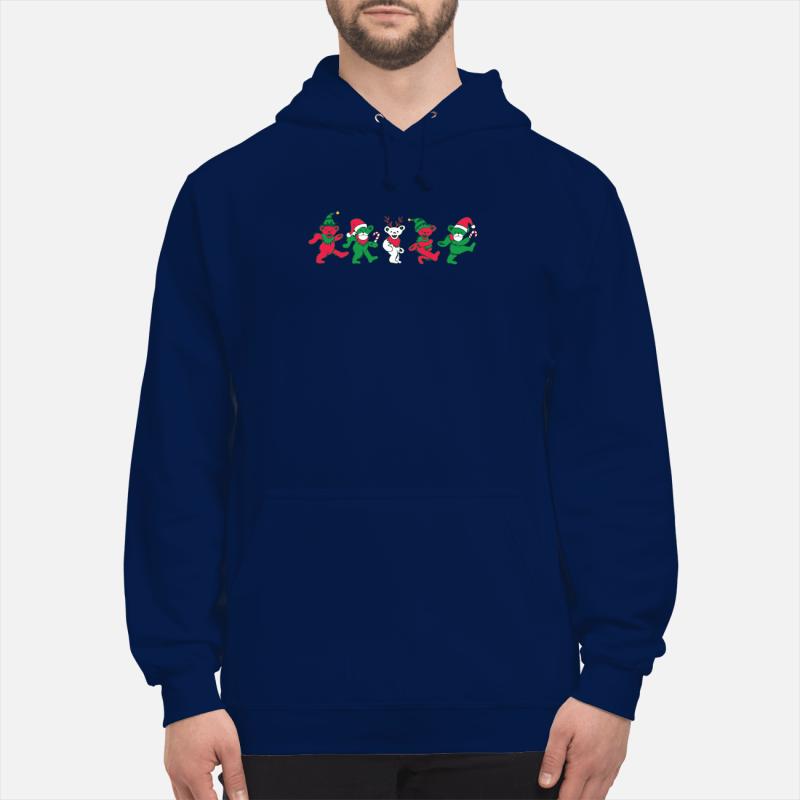 dancing bears christmas shirt hoodie sweater unisex hoodie