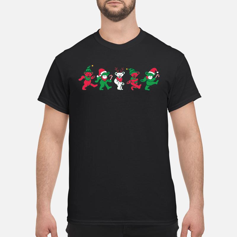 dancing bears christmas shirt hoodie sweater
