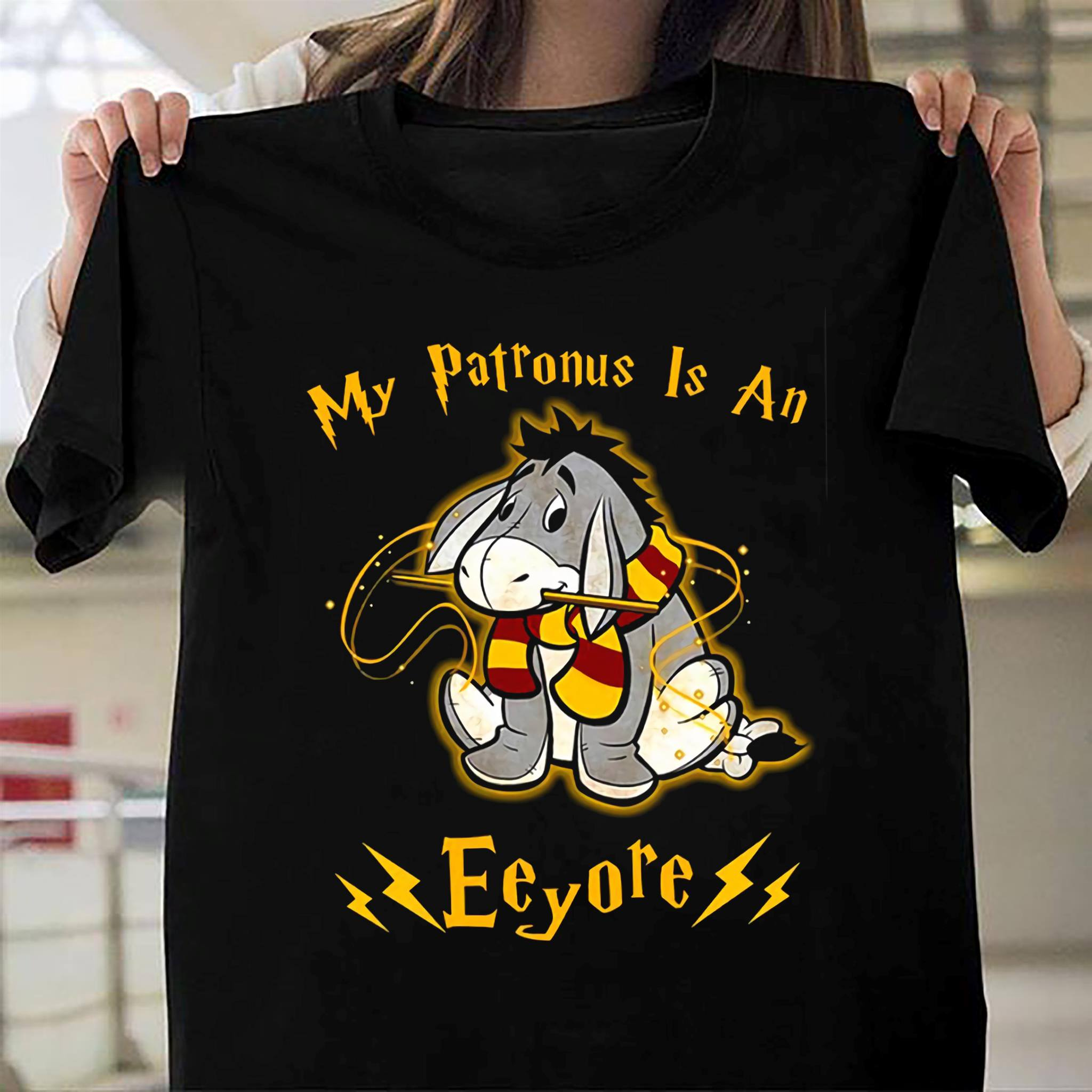 My Patronus is an Eeyore shirt