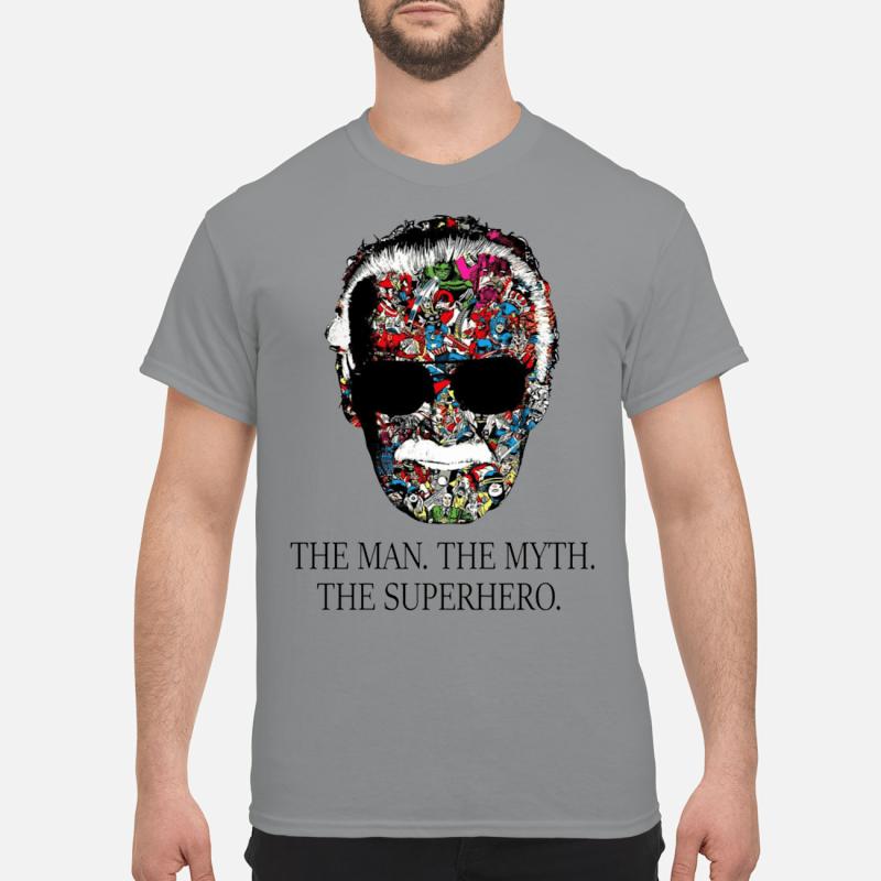 Rip Stan Lee the man the myth the superhero shirt