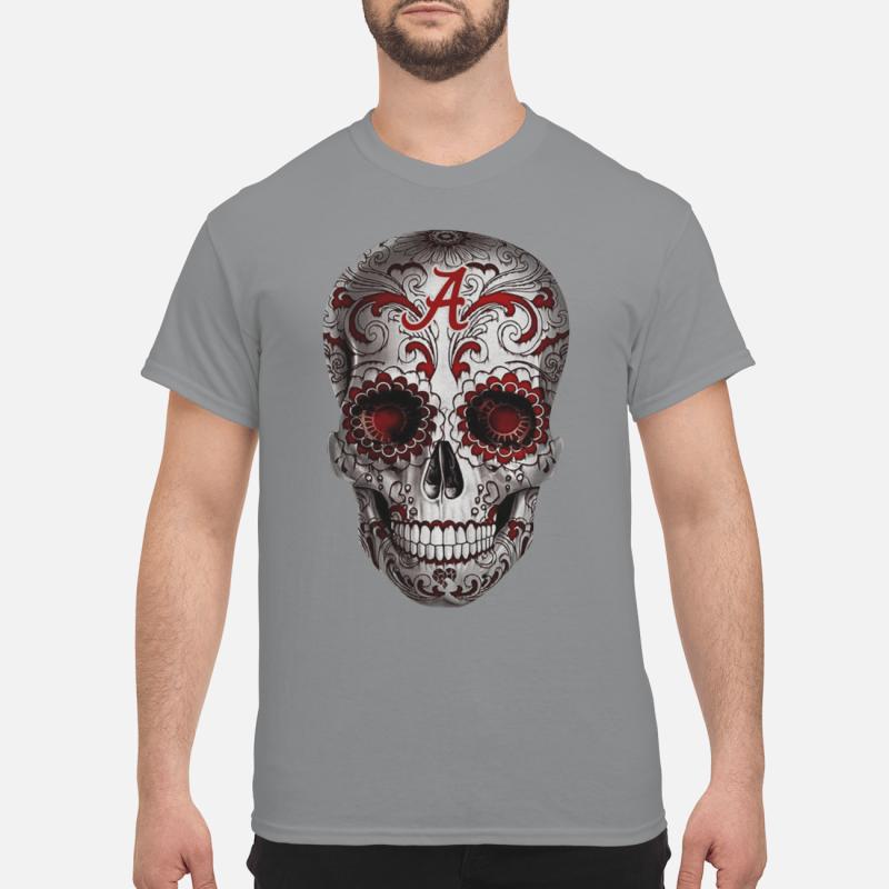 Alabama Crimson Tide Sugar Skull hoodie classic