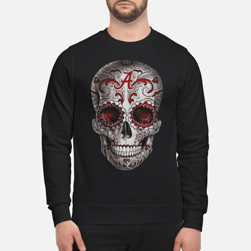 Alabama Crimson Tide Sugar Skull hoodie