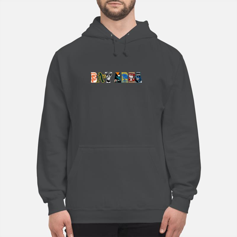 All Bay Area Sports Teams unisex hoodie
