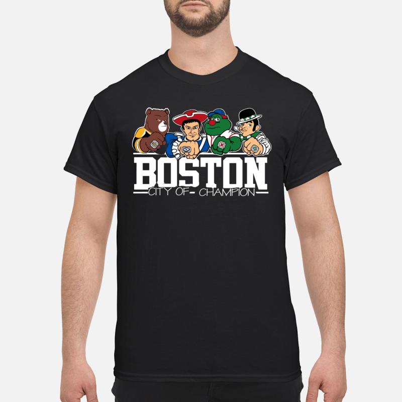 All Boston Sports teams city of champion shirt