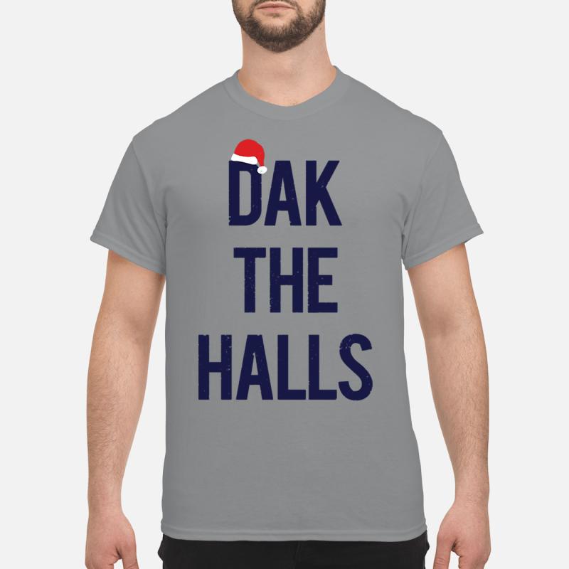 Dak the halls Christmas shirt
