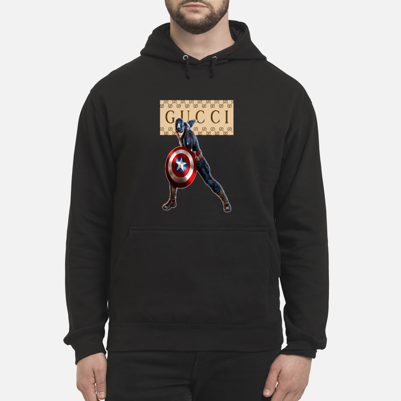 Gucci Captain America hoodie