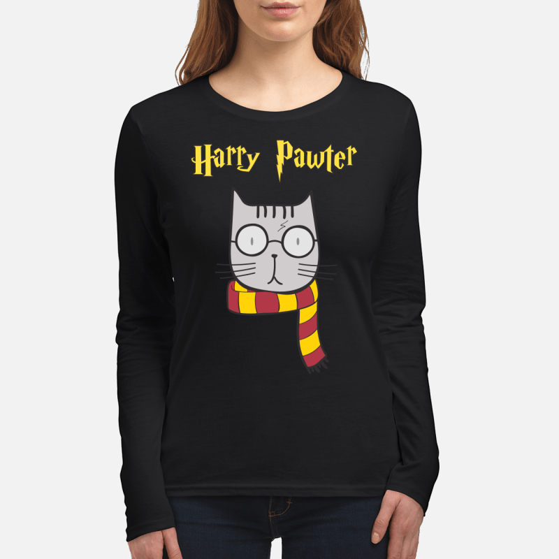 Harry Pawter Cat Harry Potter long sleeved