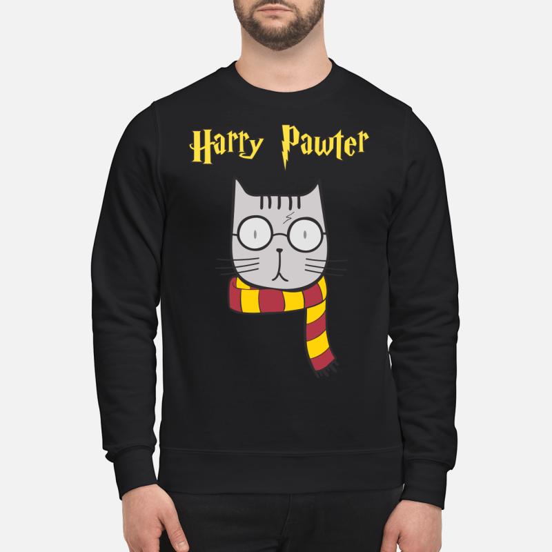 Harry Pawter Cat Harry Potter swearthirt