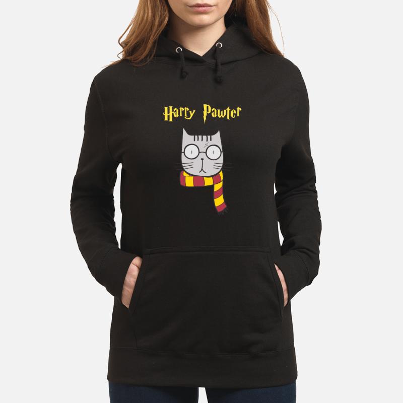 Harry Pawter Cat Harry Potter unisex hoodie