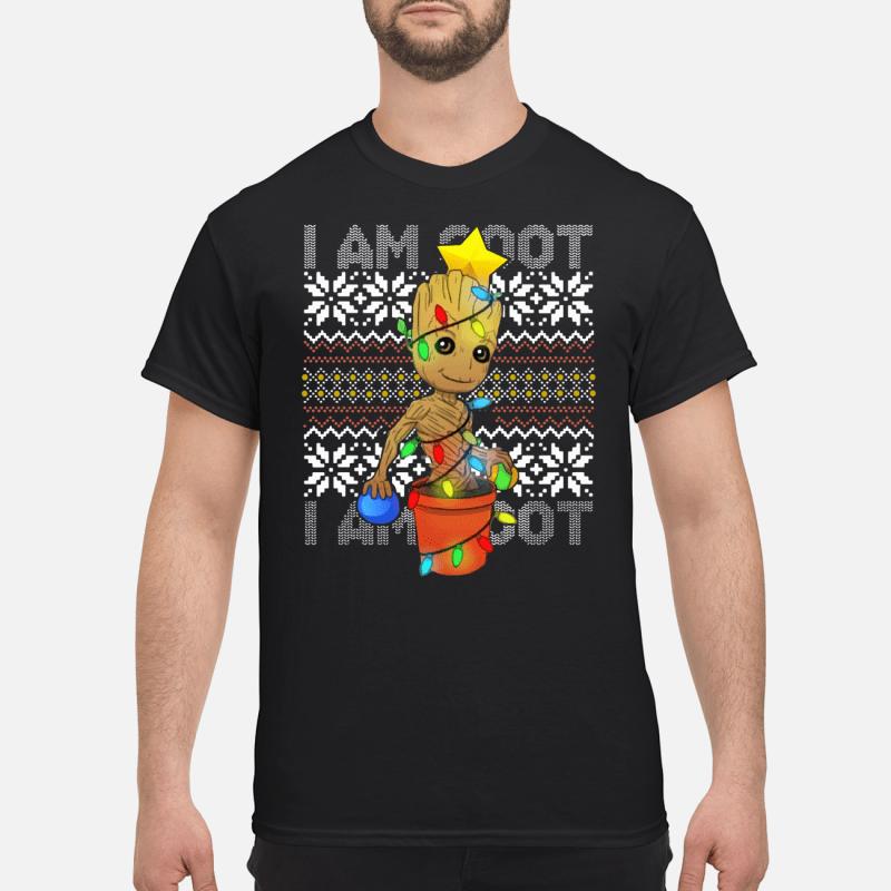 I Am Grootmas Groot Christmas shirt