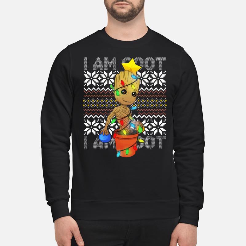 I Am Grootmas Groot Christmas sweartshirt