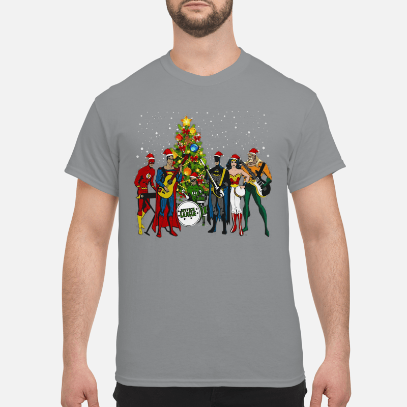 Justice League Rock Music Christmas Sweater