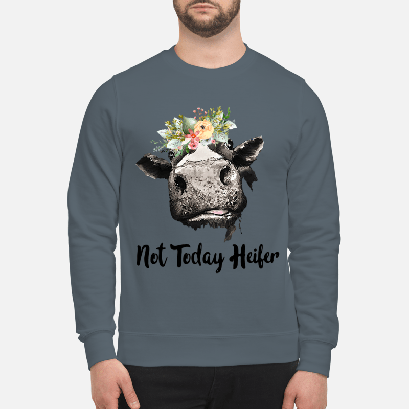 Not Today Heifer Shirt sweartshirt