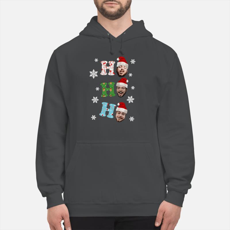 Post Malone Ho Ho Ho Merry Christmas Sweater unisex hoodie