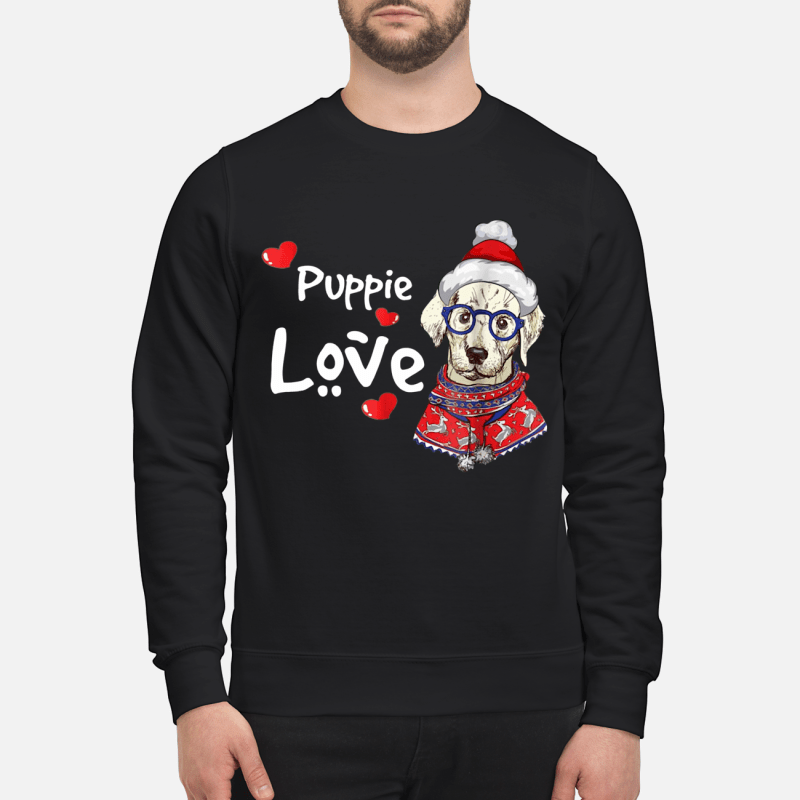 Puppie Love Rescue Dog sweater