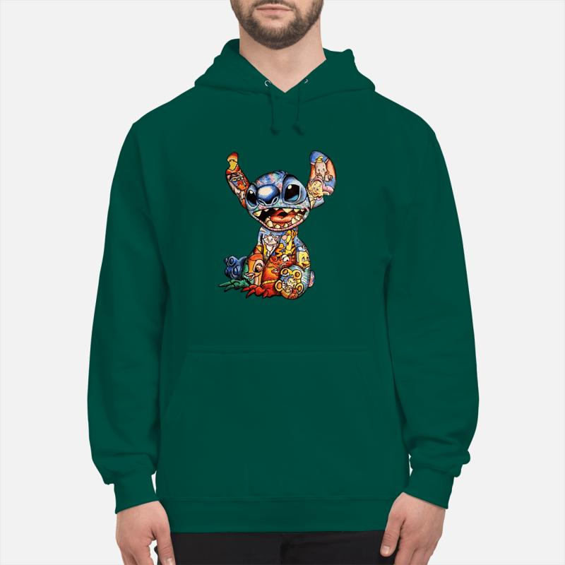 Stitch With Disney Tattoos sweatshirt