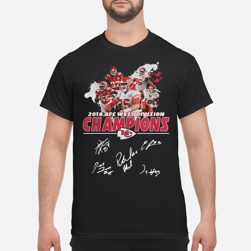 2018 AFC west division Champions Kansas City Chiefs kid shirt