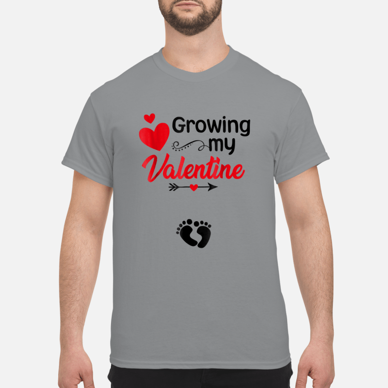 Growing my Valentine Tshirt for Wife Shirt