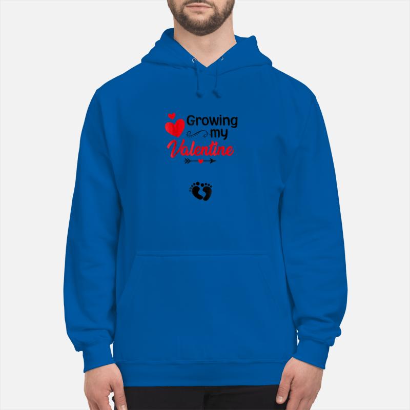 Growing my Valentine Tshirt for Wife hoodie