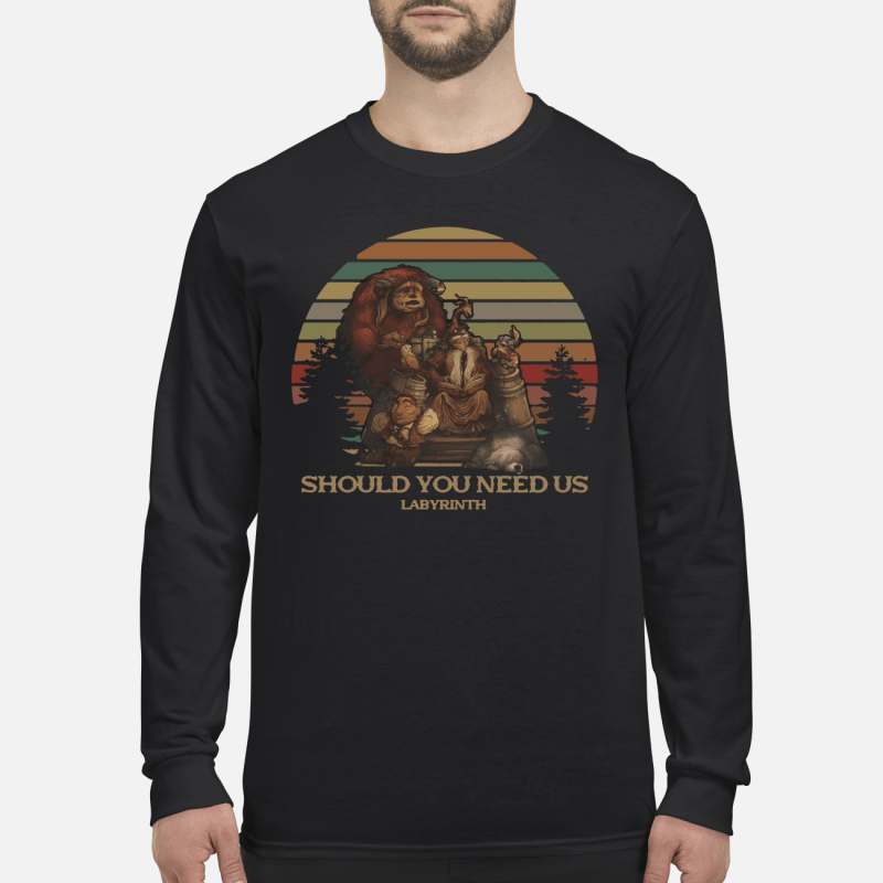 Should You Need Us Labyrinth Long sleeved