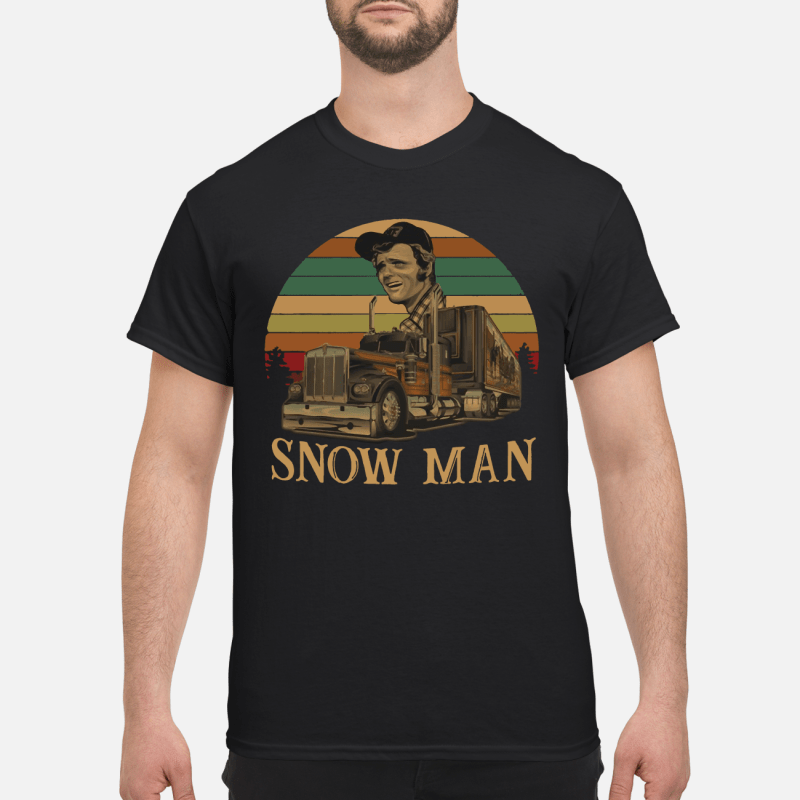 Smokey Snowman vintage kid shirt