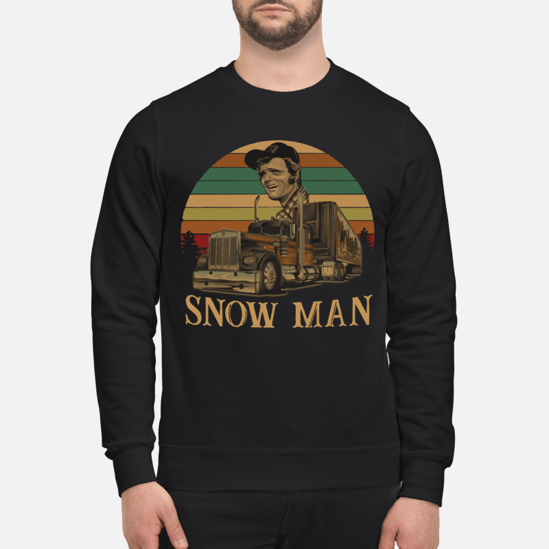 Smokey Snowman vintage kid sweatshirt