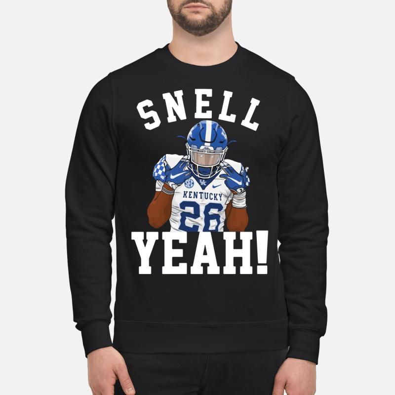 Snell Kentucky 26 yeah kid sweatshirt